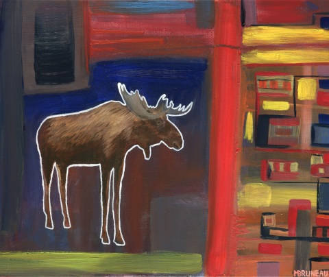 Moose in the City 5
