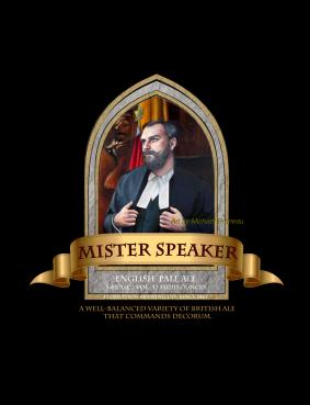 Mister Speaker Black REDONE